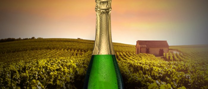 A História do Champagne