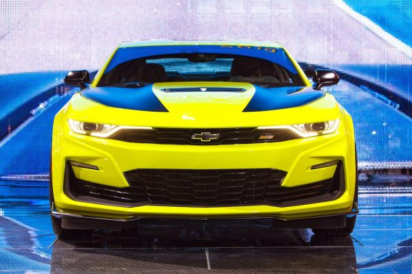 Muscle Cars - Chevrolet Camaro SS 2019