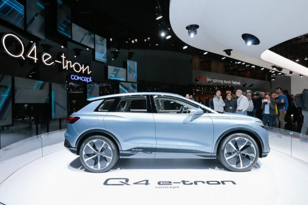Salão de Genebra 2019 - Audi Q4 e-Tron