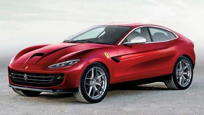 Lançamento do SUV da Ferrari.