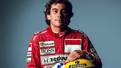Senna é o piloto mais rápido.