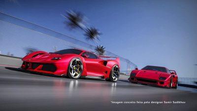 Nova Ferrari F40.