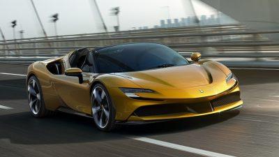 Nova Ferrari Híbrida.