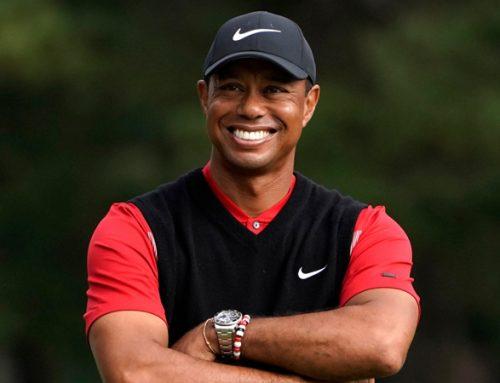 Tiger Woods, multicampeão de golfe vai disputar torneio ao lado do filho.