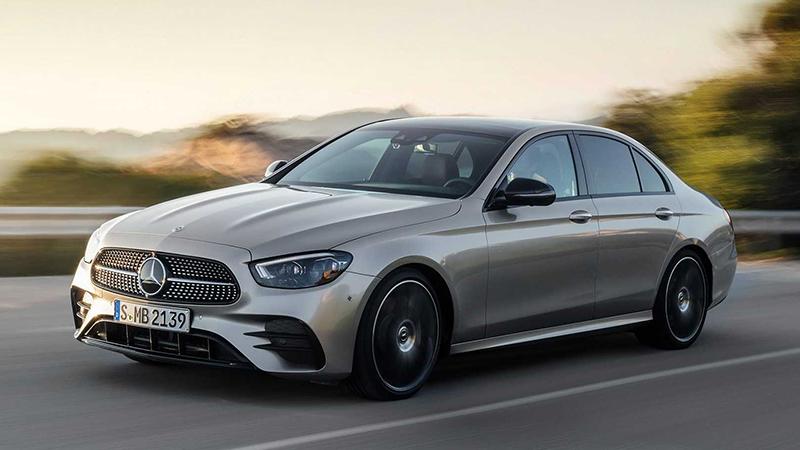 Novo Classe E. Mercedes