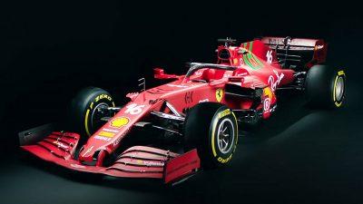 Novos carros da fórmula 1.