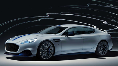 Aston Martin elétrico.