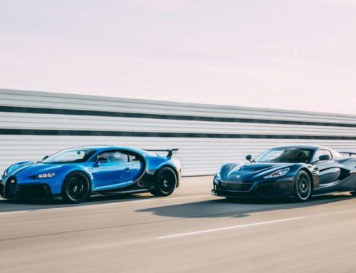 Joint venture entre Bugatti e Rimac promete hipercarros elétricos.
