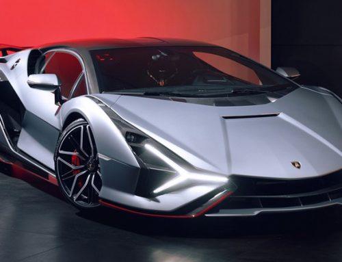 Lamborghini Sián, primeiro híbrido da marca, já é visto em ruas estrangeiras.